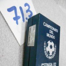 Radios antiguas: ANTIGUA RADIO TRANSISTOR CAMPEONATO DEL MUNDO 82 NATIONAL. Lote 195200746