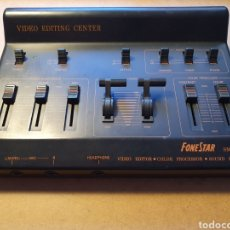 Radios antiguas: EDITOR/MEZCLADOR DE VIDEO FONESTAR SMV-60. Lote 195266482