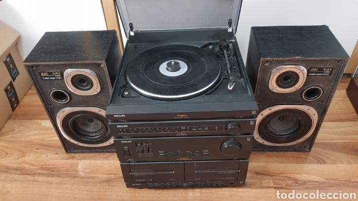 TOCADISCOS EQUIPO DE MUSICA PHILIPS (Radios, Gramófonos, Grabadoras y Otros - Transistores, Pick-ups y Otros)