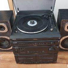 Radios antiguas: TOCADISCOS EQUIPO DE MUSICA PHILIPS. Lote 195272867