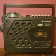Radios antiguas: RADIO CASSET SANYO DYNAMIC SOUND 3500. Lote 195301402