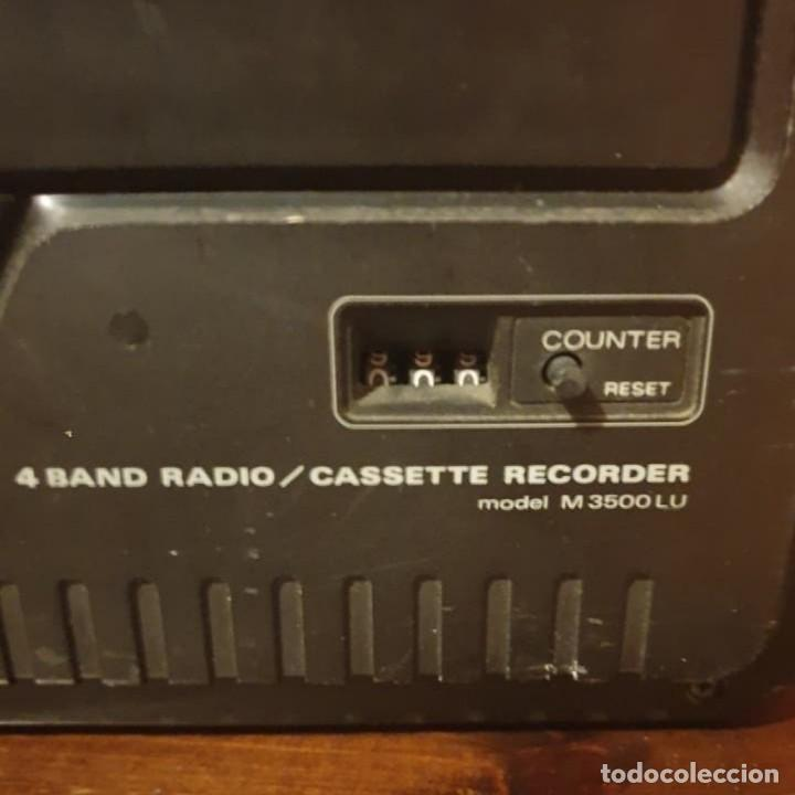 Radios antiguas: RADIO CASSET SANYO DYNAMIC SOUND 3500 - Foto 4 - 195301402
