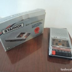 Radios antiguas: GRABADORA CASETE CON CONTADOR STARVOX - MODEL C668B - 70'S. Lote 195312663