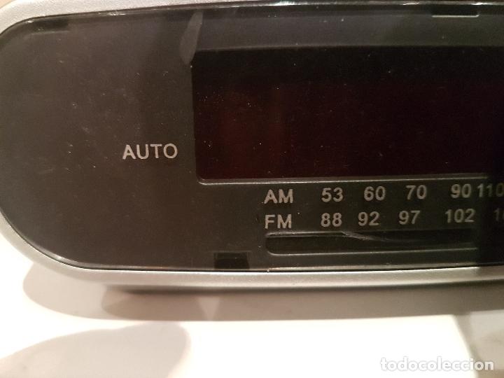 Radios antiguas: antigua radio despertador de sobremesa marca sami audio funcionando ver fotos - Foto 2 - 195317221