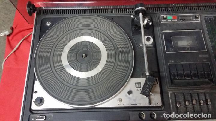 Radios antiguas: DUAL NORDMENDE COMPACT HIFI STEREO KOMBINATION 8025,funciona pero necesita repaso - Foto 11 - 195335988