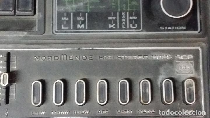Radios antiguas: DUAL NORDMENDE COMPACT HIFI STEREO KOMBINATION 8025,funciona pero necesita repaso - Foto 21 - 195335988