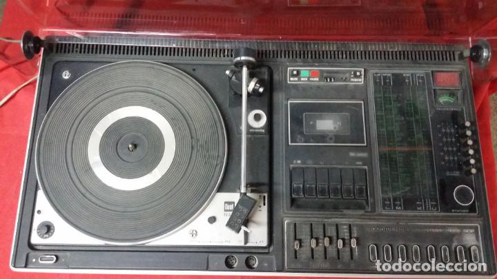 DUAL NORDMENDE COMPACT HIFI STEREO KOMBINATION 8025,FUNCIONA PERO NECESITA REPASO (Radios, Gramófonos, Grabadoras y Otros - Transistores, Pick-ups y Otros)