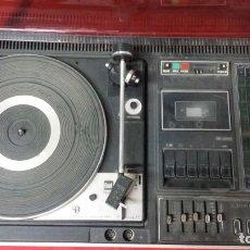 Radios antiguas: DUAL NORDMENDE COMPACT HIFI STEREO KOMBINATION 8025,FUNCIONA PERO NECESITA REPASO. Lote 195335988