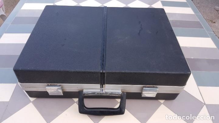 Radios antiguas: Sanyo Solid State Stereo Music Centre Model G-2615N Equipo Portátil Tocadiscos, Cassette, Radio FM - Foto 10 - 195339457