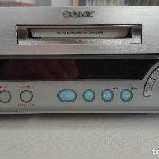 Radios antiguas: REPRODUCTOR GRABADOR DE MINIDISC SONY MDS SD1. Lote 195449773