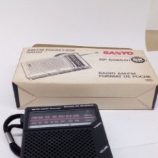 Radios antiguas: RADIO FM SANYO RP5065D. Lote 195461410