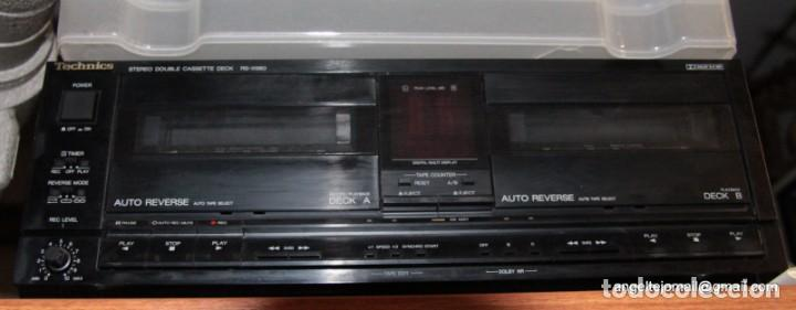 Radios antiguas: Doble Pletina (Cassete deck) Technics. RS X390 - Foto 2 - 195474925