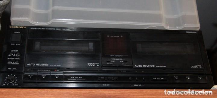 Radios antiguas: Doble Pletina (Cassete deck) Technics. RS X390 - Foto 3 - 195474925