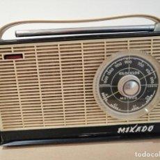 Radios antiguas: ANTIGUO RADIO TRANSISTOR MARCA *MIKADO* LEER DESCRIPCIÓN!!. Lote 195512688