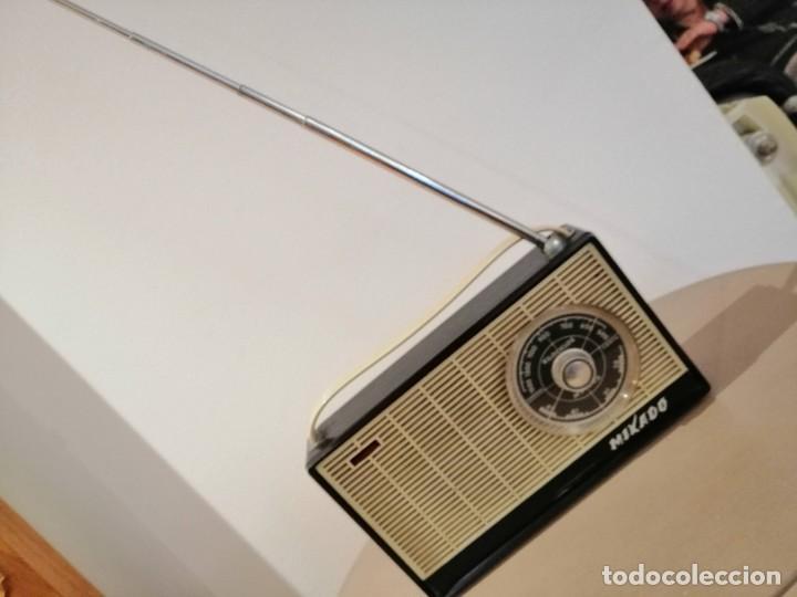 Radios antiguas: ANTIGUO RADIO TRANSISTOR MARCA *MIKADO* leer descripción!! - Foto 2 - 195512688