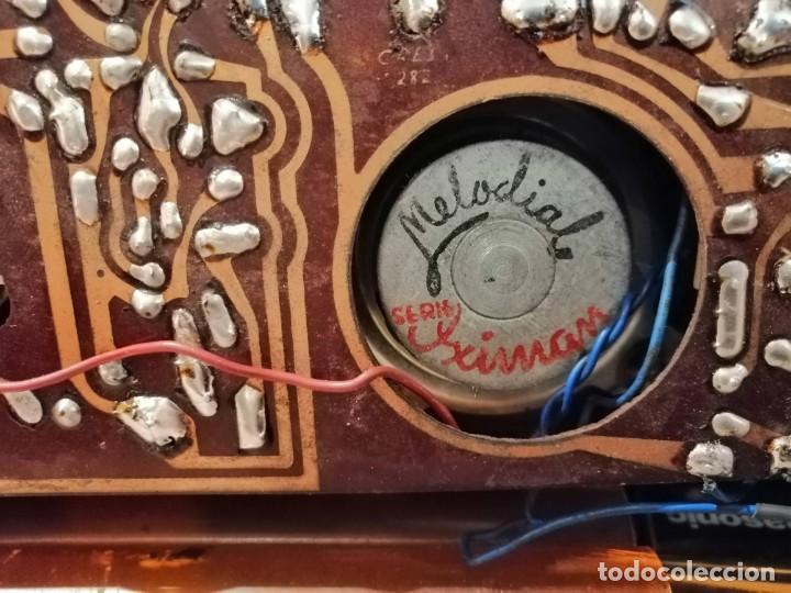 Radios antiguas: ANTIGUO RADIO TRANSISTOR MARCA *MIKADO* leer descripción!! - Foto 5 - 195512688