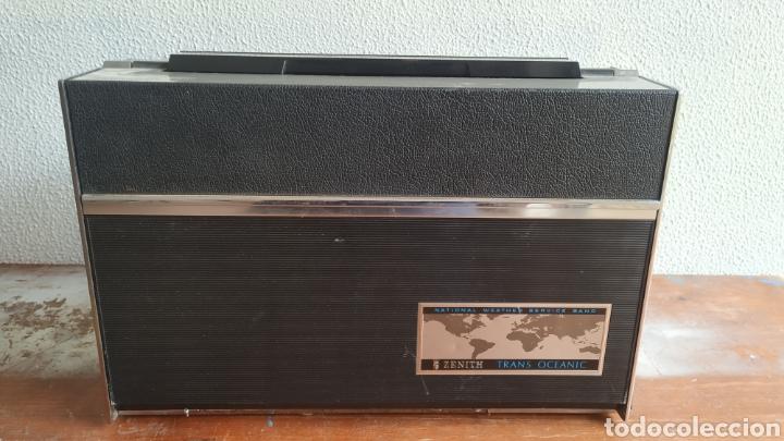 Radios antiguas: Radio Zenith trans oceanic RD7000. TOP!! - Foto 2 - 195642196