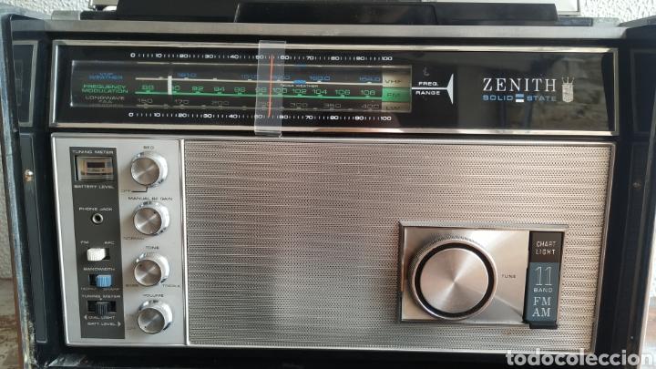 Radios antiguas: Radio Zenith trans oceanic RD7000. TOP!! - Foto 10 - 195642196