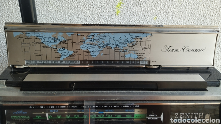 Radios antiguas: Radio Zenith trans oceanic RD7000. TOP!! - Foto 11 - 195642196