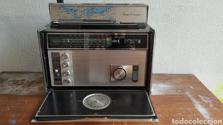 RADIO ZENITH TRANS OCEANIC RD7000. TOP!! (Radios, Gramófonos, Grabadoras y Otros - Transistores, Pick-ups y Otros)
