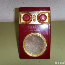 Radios antiguas: RADIO TRANSITOR ZENITH ROYAL 500. Lote 195663116