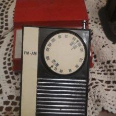 Radio antiche: RADIO TRANSISTOR VINTAGE MADE IN TIWAN AM/FM PEPETO ELECTRONICA. Lote 195786371