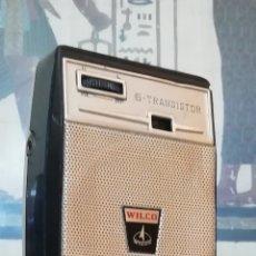 Radios antiguas: TRANSISTOR WILCO DE COLECCIÓN AÑO 1965 FUNCIONANDO. Lote 195894407