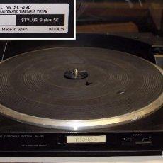 Radios antiguas: PLATO TOCADISCOS TECHNICS SL-J90 DC SERVO AUTOMATIC TURNTABLE SYSTEM. Lote 195947528