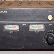 Radios antiguas: AMPLIFICADOR COSMO ALPHA 25 STEREO AMPLIFIER QUADRASOUND. Lote 195947572