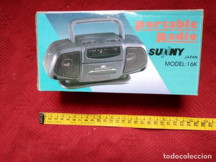RADIO PORTABLE SUNNY (Radios, Gramófonos, Grabadoras y Otros - Transistores, Pick-ups y Otros)