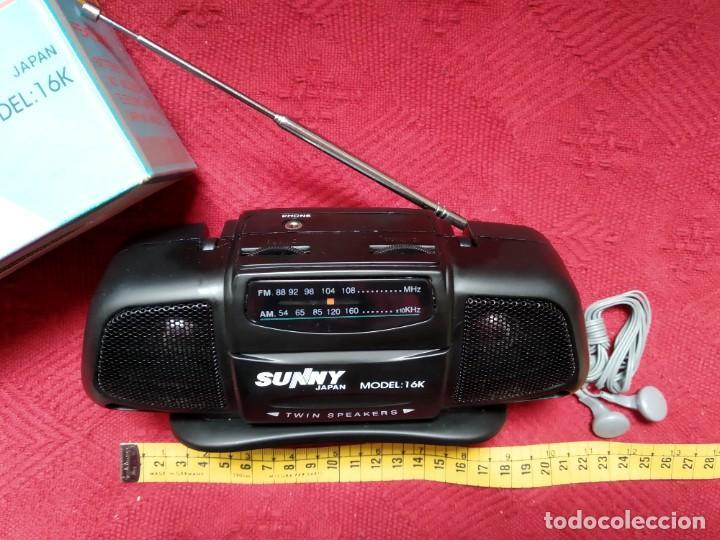 Radios antiguas: Radio portable Sunny - Foto 2 - 195987662