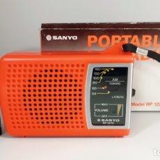 Radios antiguas: RADIO SANYO RP 1270, FUNCIONA, VER VÍDEO.. Lote 196267052
