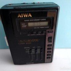 Radios Anciennes: ANTIGUA RADIO CASETE AIWA HS T 60 WALKMAN. Lote 197164593