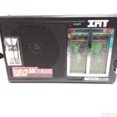Radios antiguas: RADIO IAT 12 BAND IR-2006. Lote 197366673
