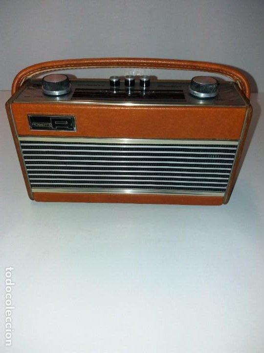 PRECIOSO RADIO TRANSISTOR RAMBLER VINTAGE AÑOS 60'S (Radios, Gramófonos, Grabadoras y Otros - Transistores, Pick-ups y Otros)