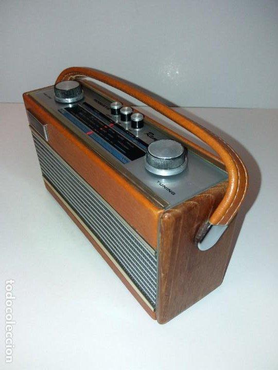 Radios antiguas: PRECIOSO RADIO TRANSISTOR RAMBLER VINTAGE AÑOS 60s - Foto 2 - 197712640