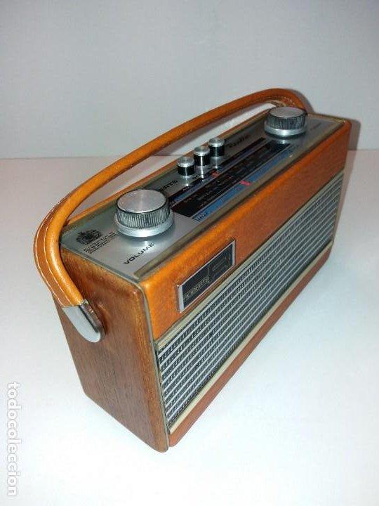 Radios antiguas: PRECIOSO RADIO TRANSISTOR RAMBLER VINTAGE AÑOS 60s - Foto 3 - 197712640