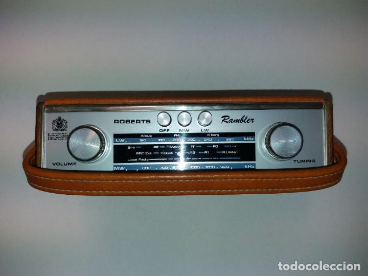 Radios antiguas: PRECIOSO RADIO TRANSISTOR RAMBLER VINTAGE AÑOS 60s - Foto 5 - 197712640
