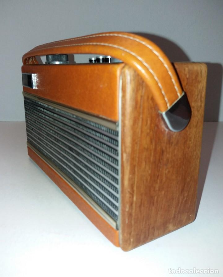 Radios antiguas: PRECIOSO RADIO TRANSISTOR RAMBLER VINTAGE AÑOS 60s - Foto 8 - 197712640