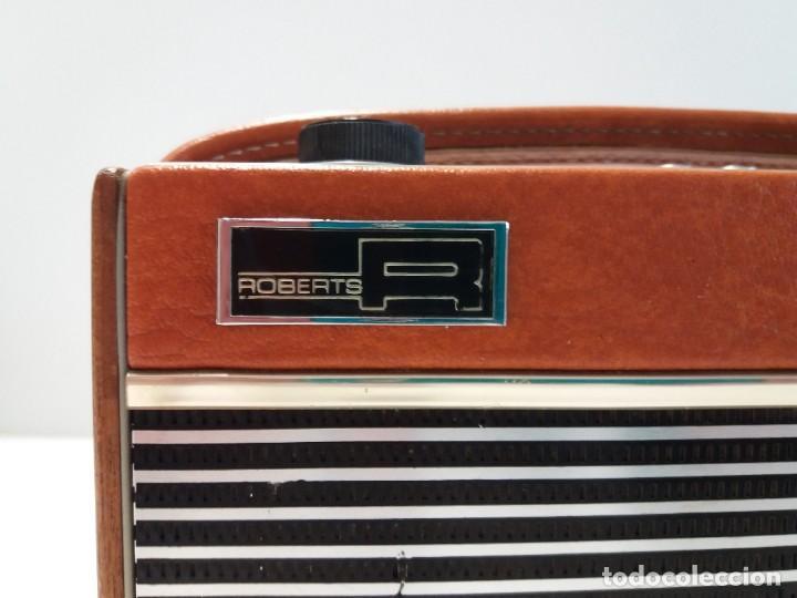 Radios antiguas: PRECIOSO RADIO TRANSISTOR RAMBLER VINTAGE AÑOS 60s - Foto 10 - 197712640