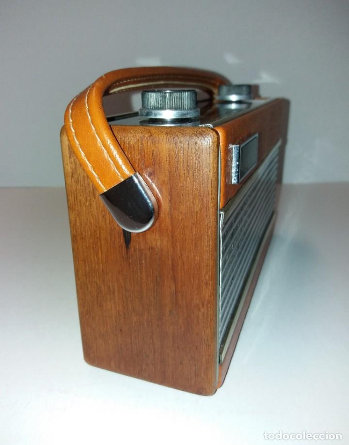 Radios antiguas: PRECIOSO RADIO TRANSISTOR RAMBLER VINTAGE AÑOS 60s - Foto 11 - 197712640