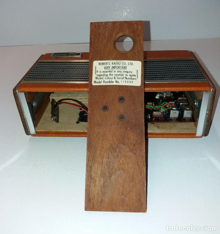 Radios antiguas: PRECIOSO RADIO TRANSISTOR RAMBLER VINTAGE AÑOS 60s - Foto 14 - 197712640