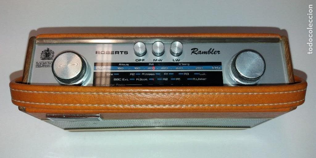 Radios antiguas: PRECIOSO RADIO TRANSISTOR RAMBLER VINTAGE AÑOS 60s - Foto 17 - 197712640