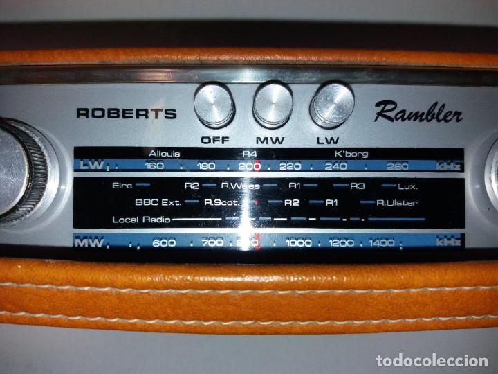 Radios antiguas: PRECIOSO RADIO TRANSISTOR RAMBLER VINTAGE AÑOS 60s - Foto 18 - 197712640