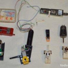 Radios antiguas: ANTIGUO LOTE / PORTA CAPSULAS Y CAPSULAS / DE GIRADISCOS / TOCADISCOS - MARCAS VARIAS - ¡MIRA!. Lote 197770733