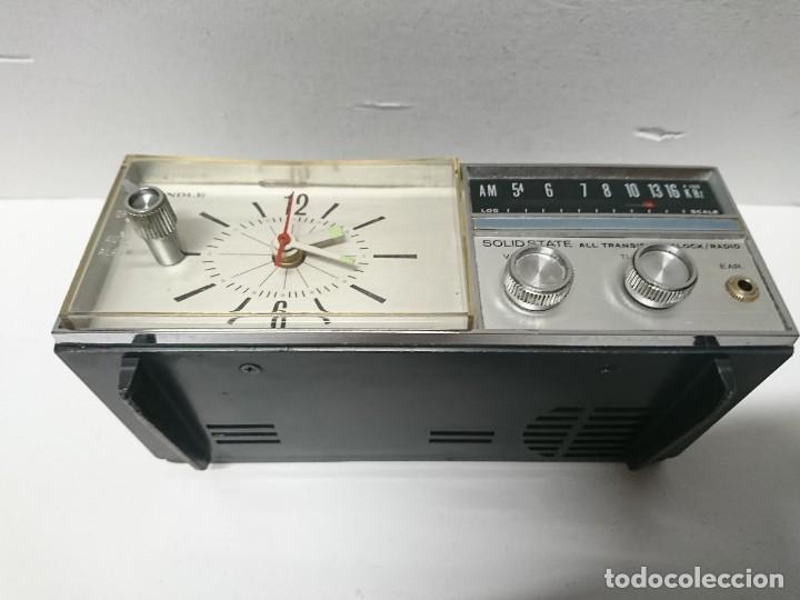 Radios antiguas: Radio Reloj Candle Solid State - Foto 3 - 197920877