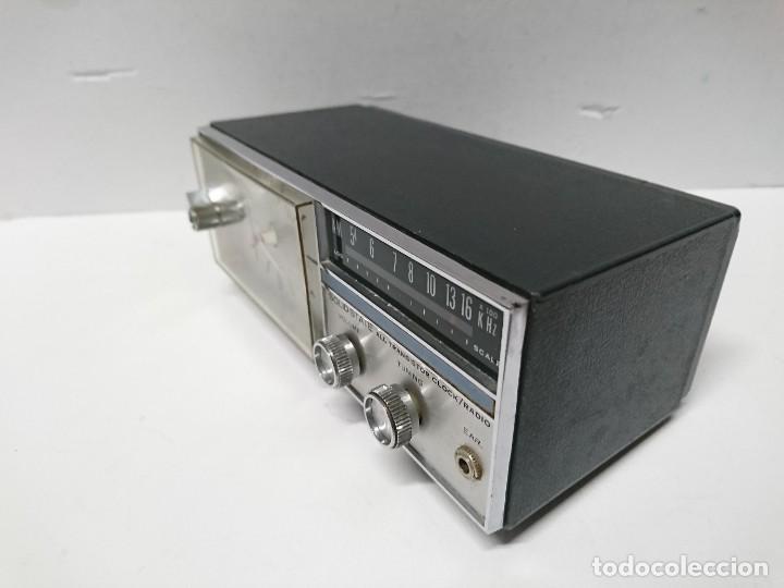Radios antiguas: Radio Reloj Candle Solid State - Foto 6 - 197920877