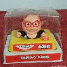 Radios antiguas: RADIO TRANSISTOR. TALKING RADIO. BLISTER ORIGINAL. INGLATERRA. CIRCA 1960. . Lote 198193577