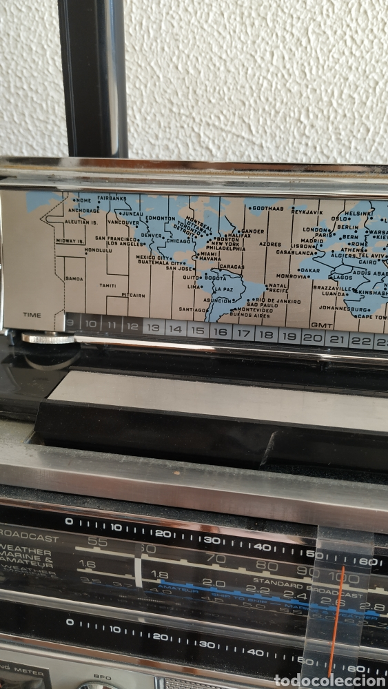 Radios antiguas: Radio Zenith trans oceanic RD7000. TOP!! - Foto 14 - 195642196