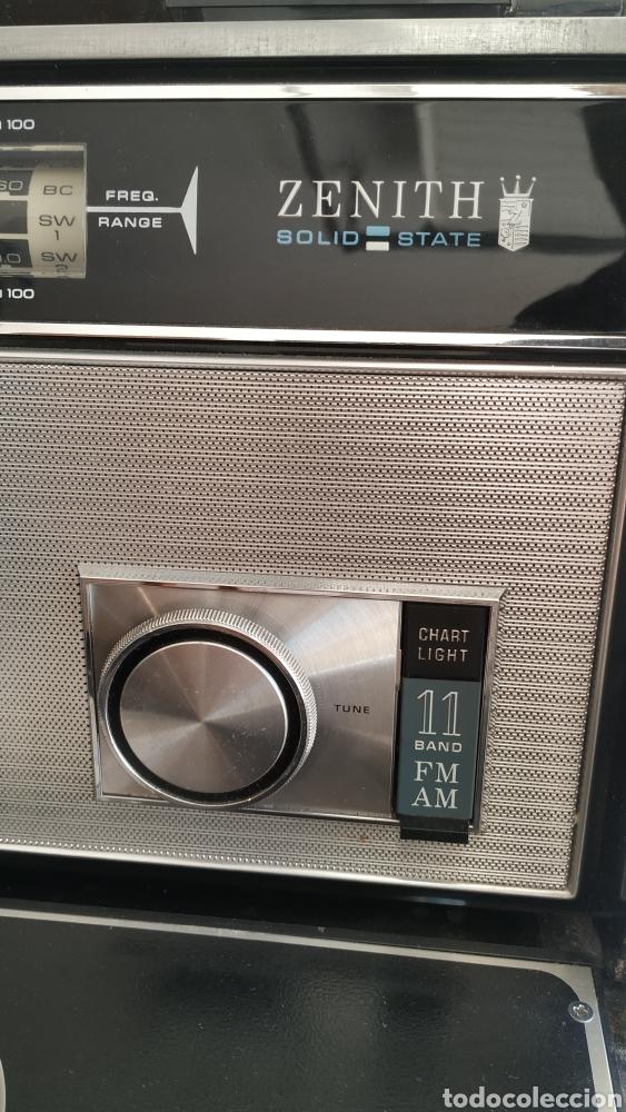 Radios antiguas: Radio Zenith trans oceanic RD7000. TOP!! - Foto 15 - 195642196